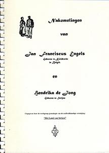 Nakomelingen van Jan Franciscus Engels
